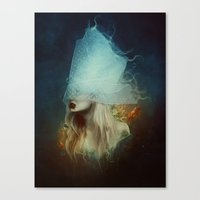 underwater Canvas Prints featuring Underwater by Kryseis Retouche