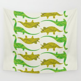 Paper Dino Wall Tapestry