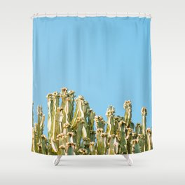 stay away Shower Curtain