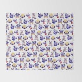 Pug-Tastic! Throw Blanket