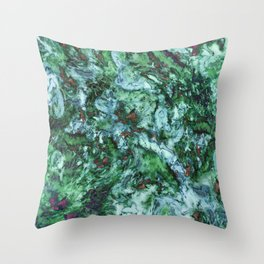 Surface tension Throw Pillow