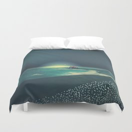 House by the Sea Duvet Cover