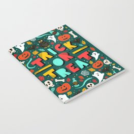Trick or Treat Halloween Notebook