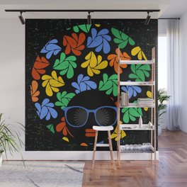 Afro Diva : Colorful Wall Mural