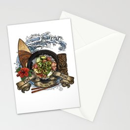 Everyone Gets Lei'd Stationery Cards