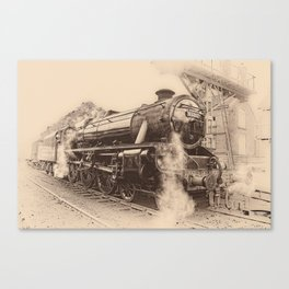 Steam Train - 45212 Locomotive Canvas Print