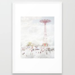 Coney Island 2014 Framed Art Print