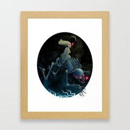 Midnight Traveler Framed Art Print