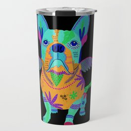 Alebrije Frenchie Travel Mug