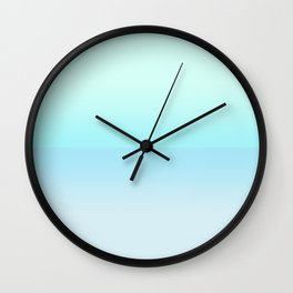 Tropical seascape Wall Clock