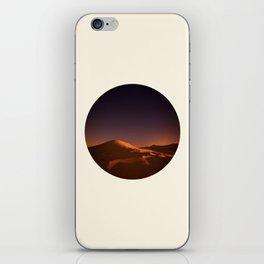 Desert Sunset & Stars In The Sky iPhone Skin