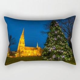 Starburst tree Rectangular Pillow