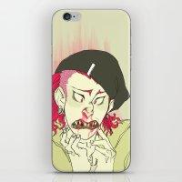 dangan ronpa iPhone & iPod Skins featuring souda pop by Cori Walters