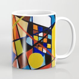 Lines and Circles Coffee Mug