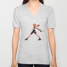 CoolNoodle and AirJordan6 Playoffs Unisex V-Neck