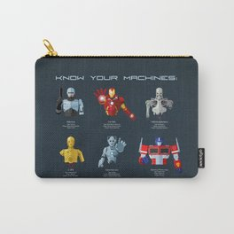 Know Your Machines Carry-All Pouch