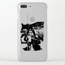 River Work Clear iPhone Case