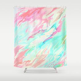 Sea of Spring Shower Curtain