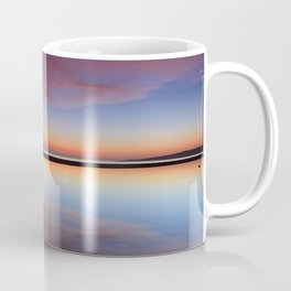 Purple sunset at the beach. Tarifa beach Coffee Mug