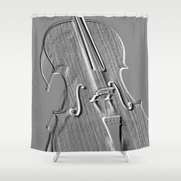 cello Shower Curtain
