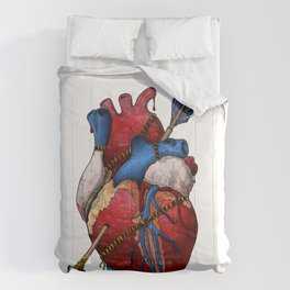 Heart Attack Comforters