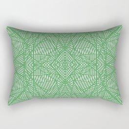 Ab Lace Green Rectangular Pillow