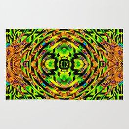 Neon Magic Carpet Rug