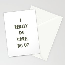 DO U? Stationery Cards