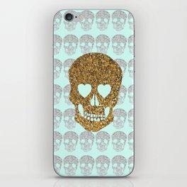 skulls & heartz;; iPhone Skin