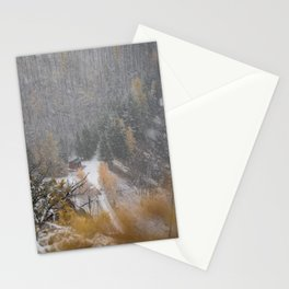 Burried in snow Stationery Cards