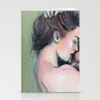 emerald Stationery Cards featuring Emerald  by Madelyne Joan Templeton