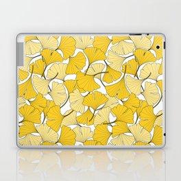 ginkgo leaves (yellow) Laptop & iPad Skin