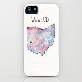 Ohio, University of Dayton, Chapel iPhone Case