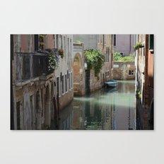 Venetian Side Street  Canvas Print