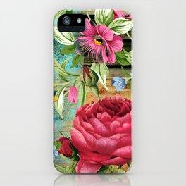 Vintage flowers #11 iPhone Case