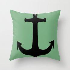 Anchors Away! Throw Pillow