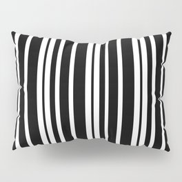 Black and White Stripes Pillow Sham