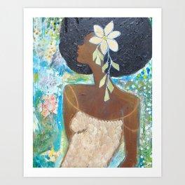 That Girl # 5 Art Print