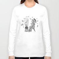 spiritual Long Sleeve T-shirts featuring Spiritual Beginning by Astrablink7