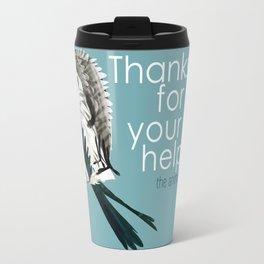 Thank for your help (GREFA) Travel Mug