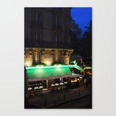 Le Cafe de la Place Canvas Print