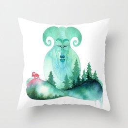 Mountain Zen Throw Pillow
