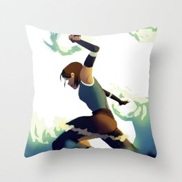 Avatar Korra II Throw Pillow