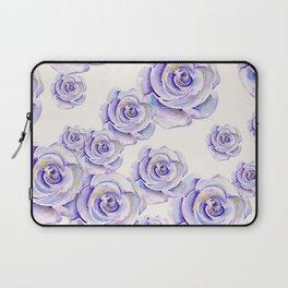 Puple Rose Painting Laptop Sleeve