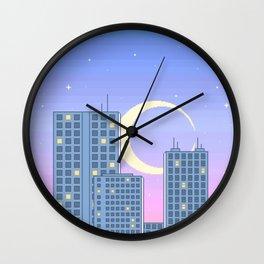 The City Never Sleeps Wall Clock