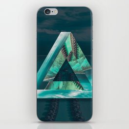 The Bermuda Triangle iPhone Skin