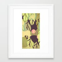 jungle Framed Art Prints featuring Jungle by VessDSign