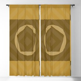 Geometric 02 Blackout Curtain