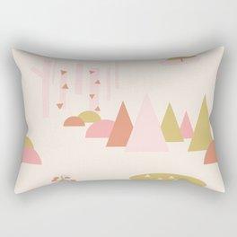 Scandinavian Summer Land 1 Rectangular Pillow