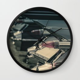 Caddy Fins Wall Clock